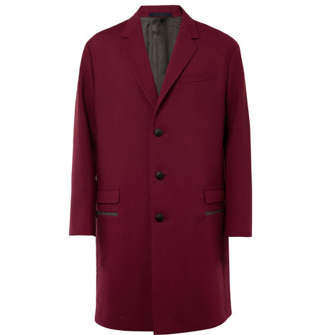Lanvin Oversized Wool-Blend Coat