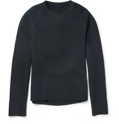 Lanvin Bonded Cotton-Blend Sweatshirt