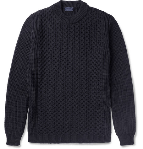 Lanvin Knitted Wool Sweater