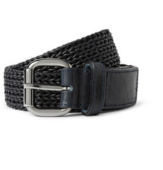 Maison Martin Margiela Woven-Leather Belt