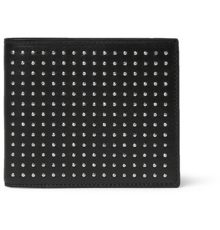 Saint Laurent Studded Leather Billfold Wallet