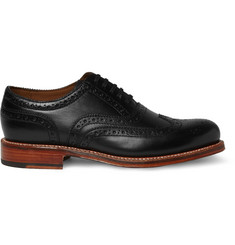 Grenson Angus Leather Wingtip Brogues