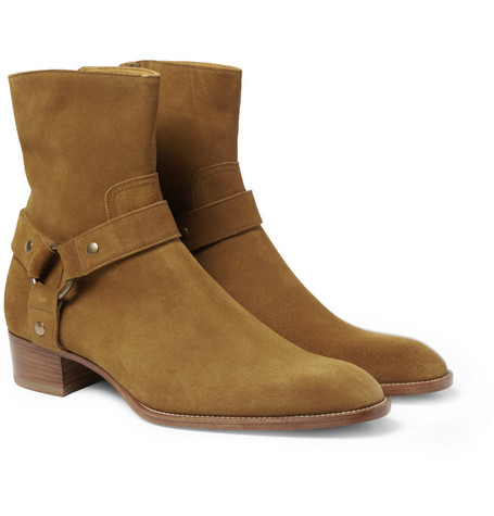Saint Laurent Suede Boots