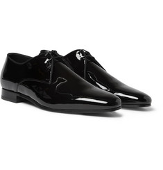 Saint Laurent Patent-Leather Derby Shoes
