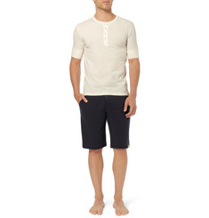 Paul Smith Shoes & Accessories Cotton-Jersey Pyjama Henley T-Shirt