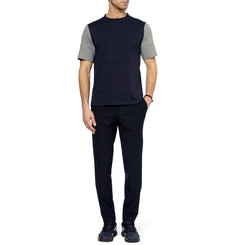 Marni Panelled Cotton-Jersey T-Shirt
