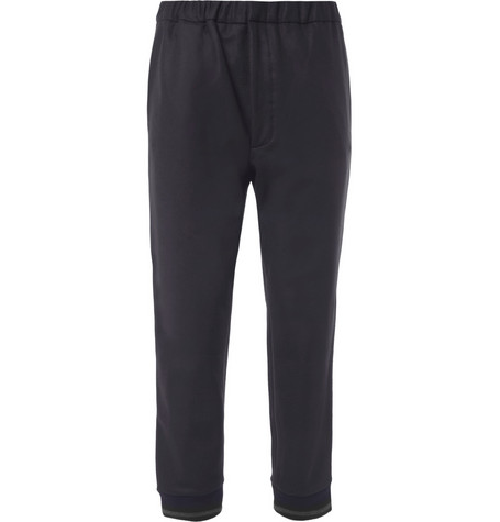 Marni Cropped Straight-Fit Wool-Blend Trousers