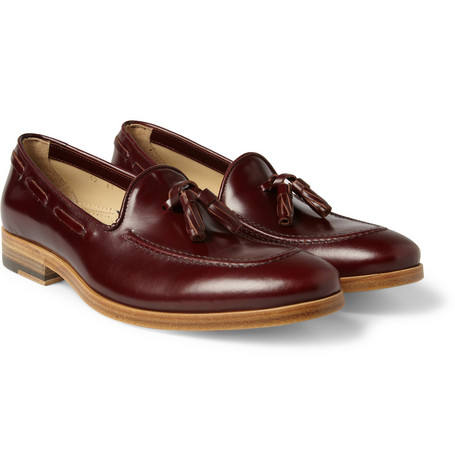 Armando Cabral Valentim Leather Tasselled Loafers