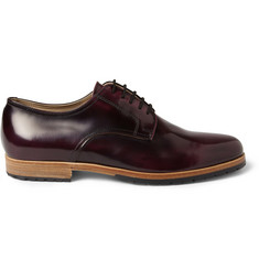Armando Cabral Bolama High-Shine Leather Derby Shoes