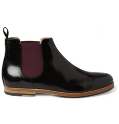 Armando Cabral High-Shine Leather Chelsea Boots