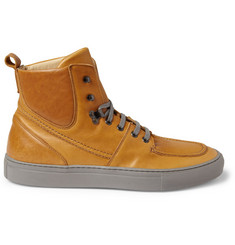Armando Cabral Yuri Leather High Top Sneakers