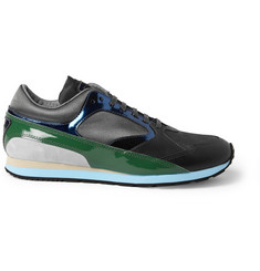 Raf Simons Leather-Panelled Sneakers