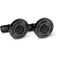 Alfred Dunhill Galaxy Compass-Engraved Cufflinks