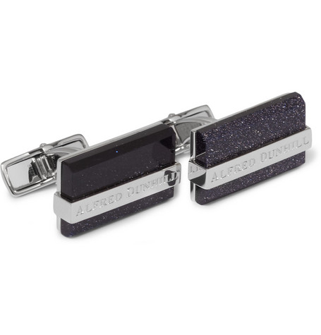 Alfred Dunhill Galaxy Metal Cufflinks