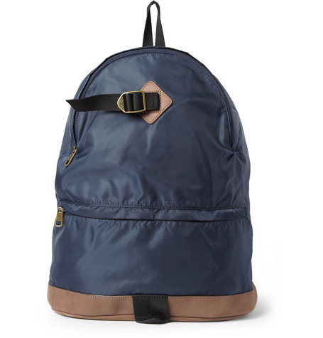 A.P.C. Leather-Trimmed Backpack