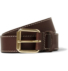 A.P.C. Stitched Leather Belt