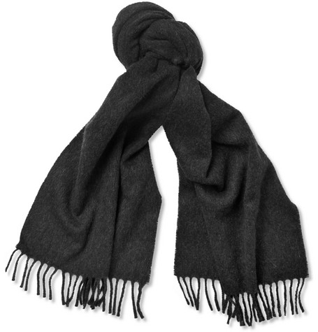 A.P.C. Wool and Cashmere-Blend Scarf