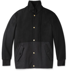 PS by Paul Smith Panelled Wool-Blend Jacket
