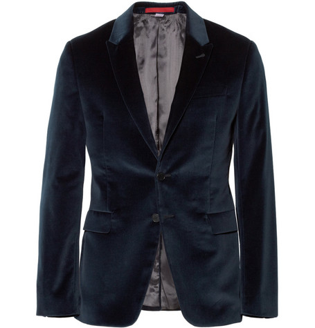 PS by Paul Smith Slim-Fit Velvet Blazer