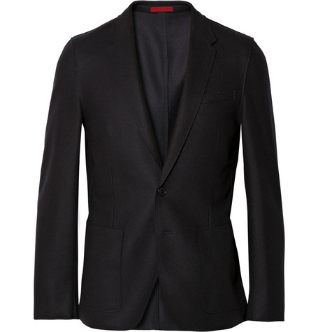 PS by Paul Smith Wool-Blend Felt Blazer
