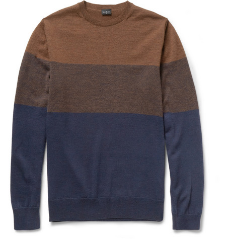 PS by Paul Smith Striped Merino Wool Sweater
