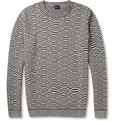 PS by Paul Smith Patterned Crew Neck Sweater
