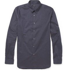 PS by Paul Smith Slim-Fit Polka-Dot Cotton Shirt