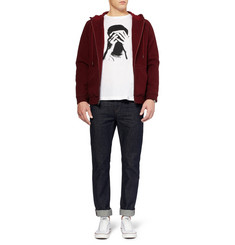 PS by Paul Smith Printed Cotton and Modal-Blend T-Shirt