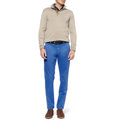 Etro Regular-Fit Cotton-Blend Trousers