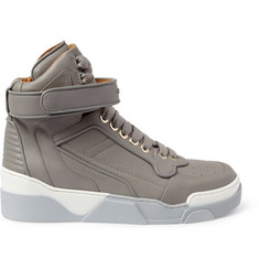 Givenchy Leather High Top Sneakers