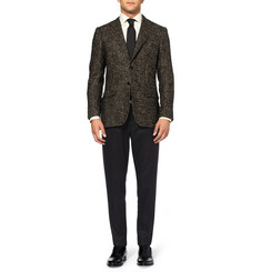 MP di Massimo Piombo Houndstooth Check Baby Alpaca-Blend Blazer