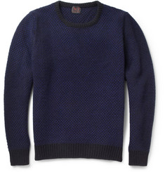 MP di Massimo Piombo Chunky-Knit Wool and Cashmere-Blend Sweater