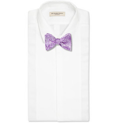 Turnbull & Asser Paisley Silk Bow Tie