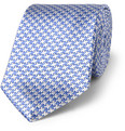 Turnbull & Asser Houndstooth Check Silk Tie
