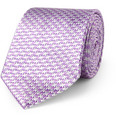 Turnbull & Asser - Houndstooth Check Silk Tie