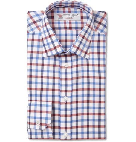 Turnbull & Asser Slim-Fit Check Cotton Shirt