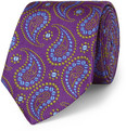 Turnbull & Asser - Paisley-Patterned Woven-Silk Tie