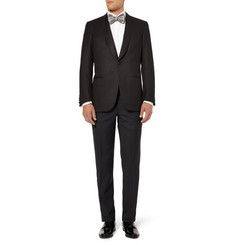 Brioni Wool and Silk-Blend Tuxedo Suit Trousers