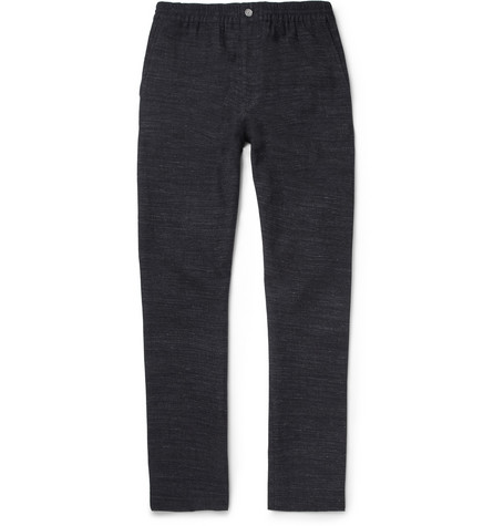 Our Legacy Cotton, Wool and Linen-Blend Trousers