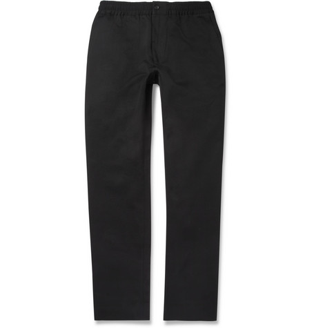 Our Legacy Cotton and Wool-Blend Twill Trousers