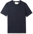 Our Legacy - Woven-Dot Cotton-Jersey T-Shirt