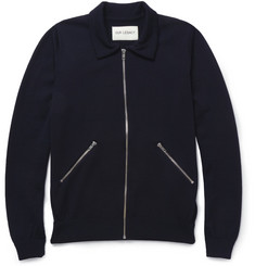 Our Legacy Zipped Knitted Merino Wool Cardigan