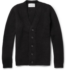 Our Legacy Chunky-Knit Boiled-Wool Cardigan
