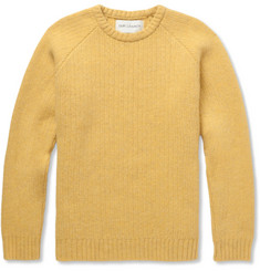 Our Legacy Ribbed-Knit Boiled-Wool Sweater
