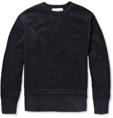 Our Legacy Reversible Cotton-Terry Sweatshirt