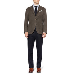 Boglioli Kei Slim-Fit Unstructured Cashmere Blazer