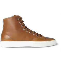 Common Projects Tournament Leather High Top Sneakers