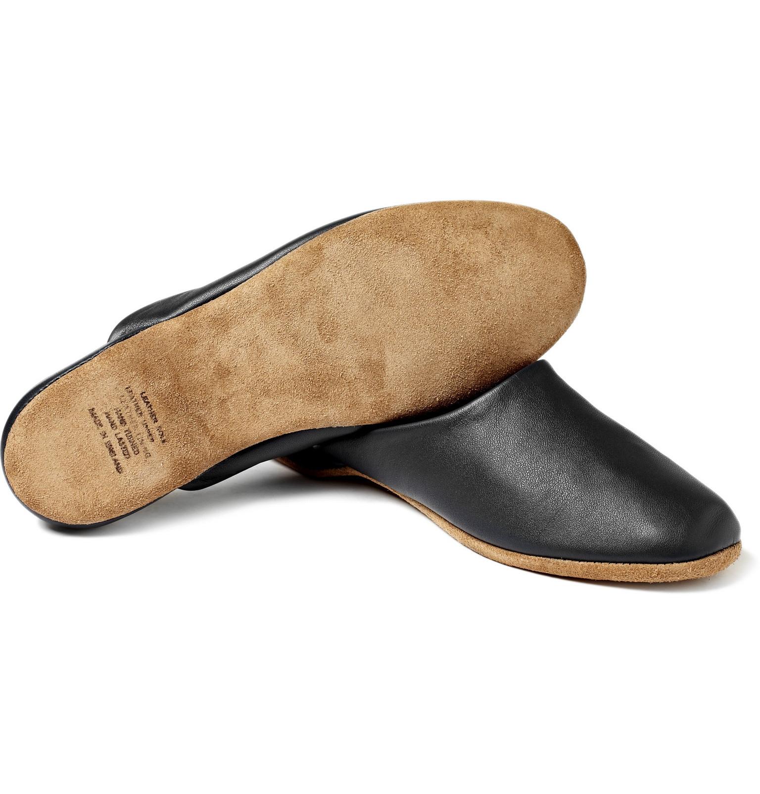 f360f30536b0a Derek Rose - Morgan Leather Slippers