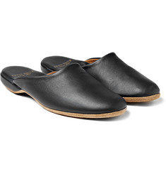 Derek Rose - Morgan Leather Slippers