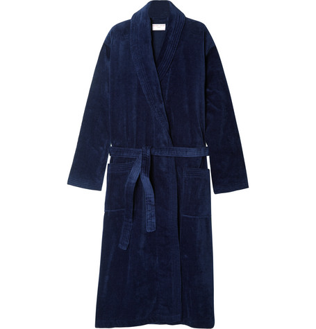 Derek rose terry robe